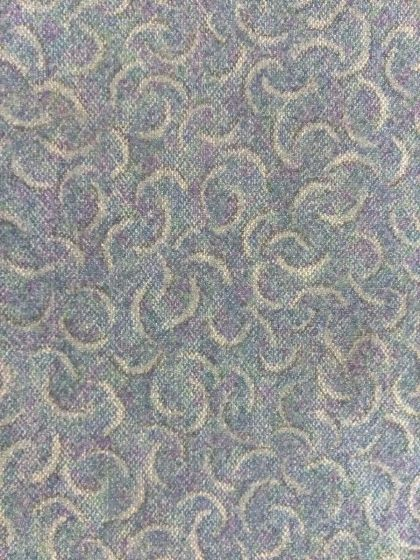 3'x3' Recycled Milliken Pattern Foam Backed Commercial Nylon Carpet Tiles