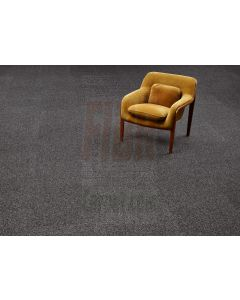 "New Bentley 20"" Charcoal Grey Commercial Carpet tiles 15 yr Warranty"
