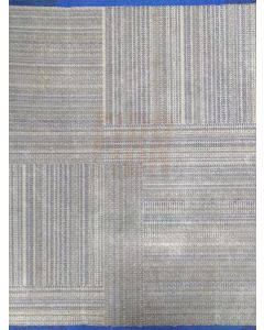 3'x3' Recycled Milliken Khaki Pattern Foam Backed Commercial Nylon Carpet Tiles