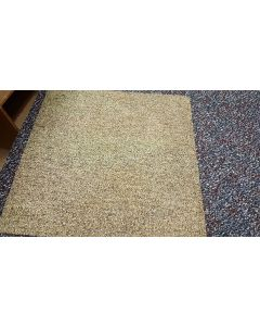 "Recycled Huega 20""x 20"" Rubber/Vinyl Backed  EarthTone Commercial Carpet Tiles"