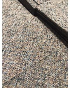 Recycled 18x18 Brazil Nut Rubber Backed Commercial Nylon Carpet Tiles