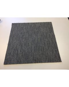 "24"" Carpet Tiles Grey line Peel and Stick"