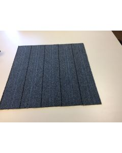 "24"" Carpet Tiles grey black line peel and stick"