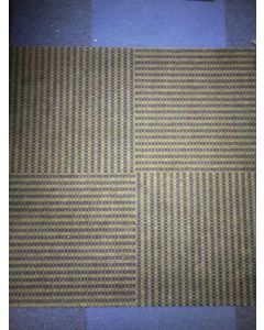 3'x3' Recycled Milliken Metro Pattern Foam Backed Commercial Nylon Carpet Tiles