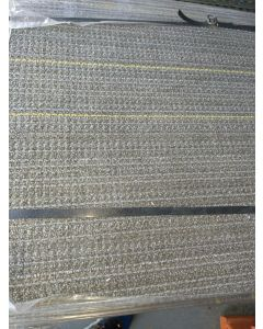 Recycled Shaw Ecoworx 24x24 Transitional Pattern Rubber Backed Commercial Nylon Carpet Tiles