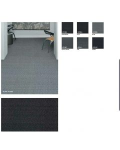 "New Tarkett 20""x20"" Brush Pattern Commercial Carpet tile Multiple Color Options"