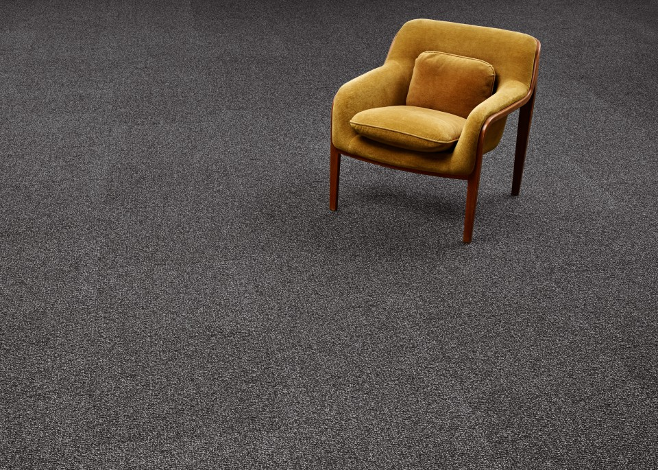 "Special Offer Just in New Bentley 20"" Charcoal Grey Commercial Carpet Tiles 15 yr Warranty Included"